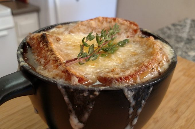 Fretalian Onion Soup // Tiny Kitchen Big Taste