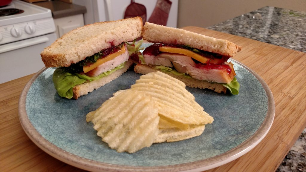 Drunken Turkey Sandwich // Tiny Kitchen Big Taste // Michael Fucci