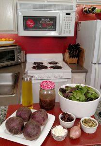 Oven-Roasted Beet Salad // Tiny Kitchen Big Taste