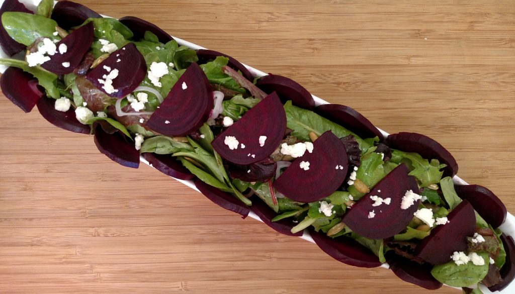 Oven-Roasted Beet Salad // Tiny Kitchen Big Taste