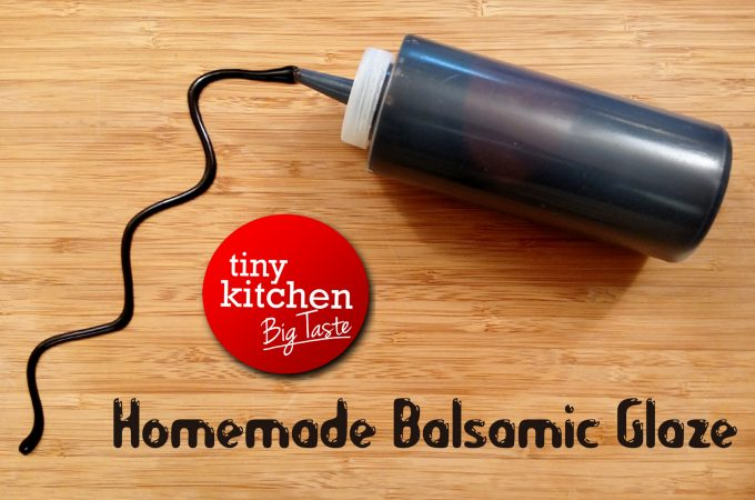 Homemade Balsamic Glaze
