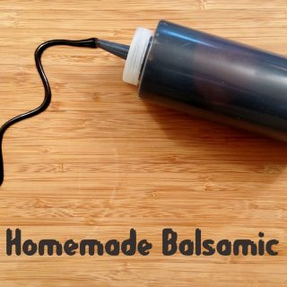 Homemade Balsamic Glaze // Tiny Kitchen Big Taste