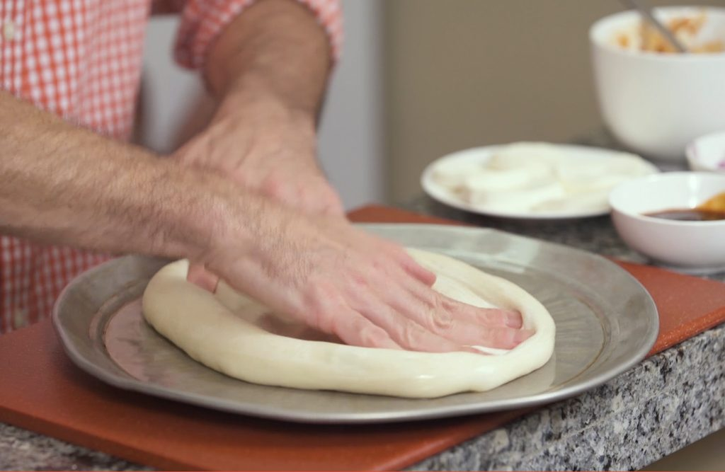 Mama Fucci's Homemade Pizza Dough // Tiny Kitchen Big Taste