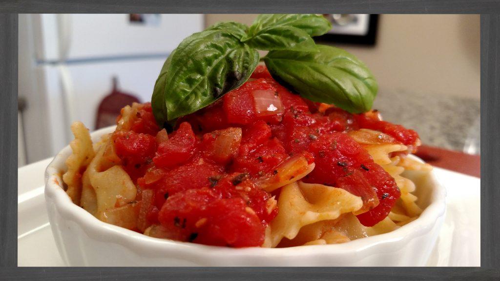 Back to Basics Tomato Sauce // Tiny Kitchen Big Taste