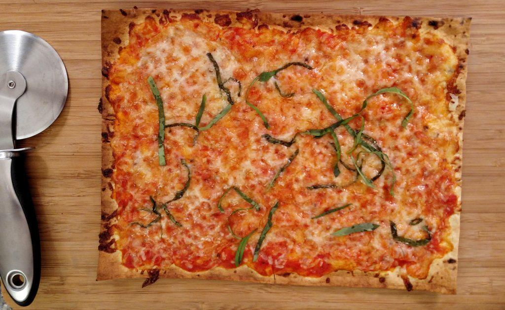 Thin Is In Pizza // Tiny Kitchen Big Taste