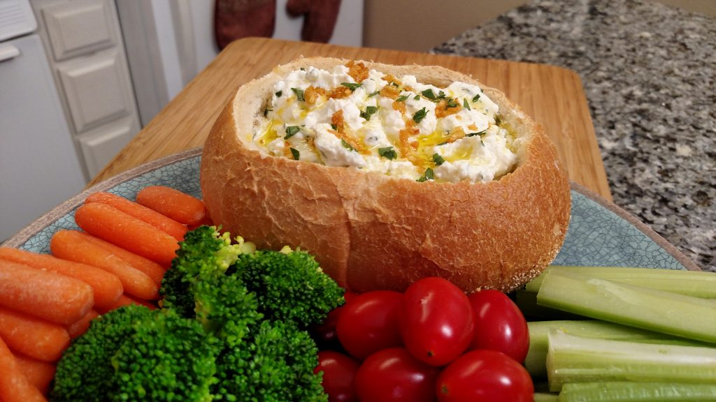 Tiny Kitchen Big Taste // 4 Seasons Vegetable Dip
