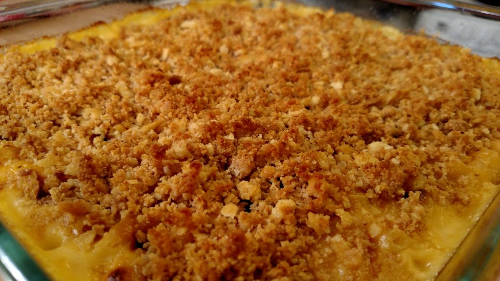 Honey Crunch Mac + Cheese // Tiny Kitchen Big Taste