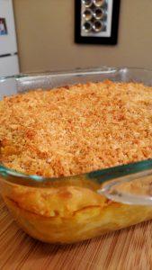 Honey Crunch Mac + Cheese // Tiny Kitchen Big Taste