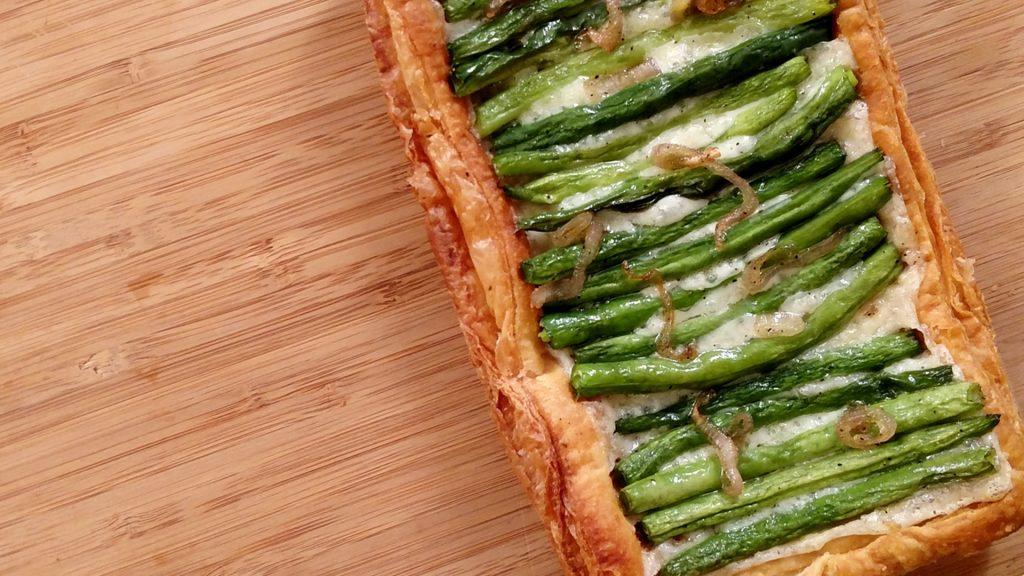 Green Bean Tart // Tiny Kitchen Big Taste