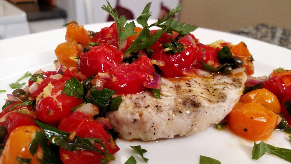 Mediterranean Swordfish // Tiny Kitchen Big TasteMediterranean Swordfish // Tiny Kitchen Big Taste