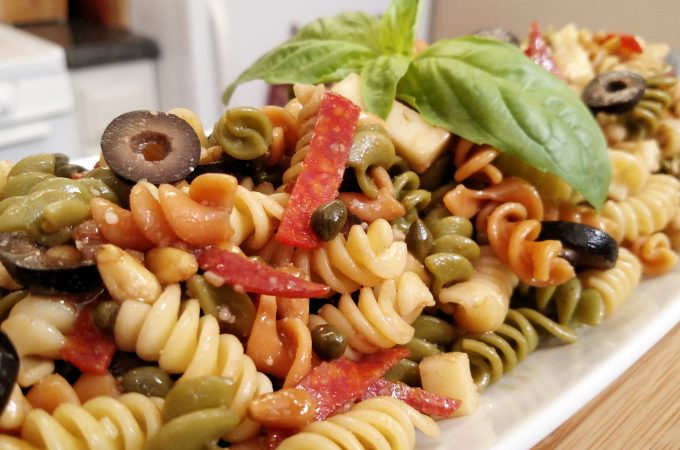 Pasta Salad // Tiny Kitchen Big Taste