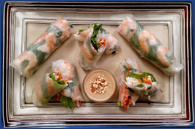 Summer Lovin' Spring Rolls // Tiny Kitchen Big Taste