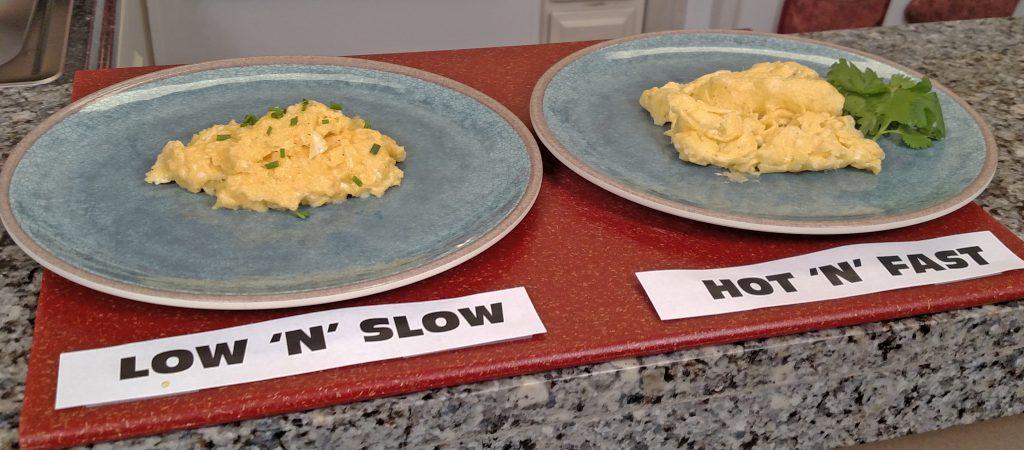 Scrambled Eggs // Tiny Kitchen Big Taste