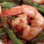 Bacon Shrimp and Green Beans