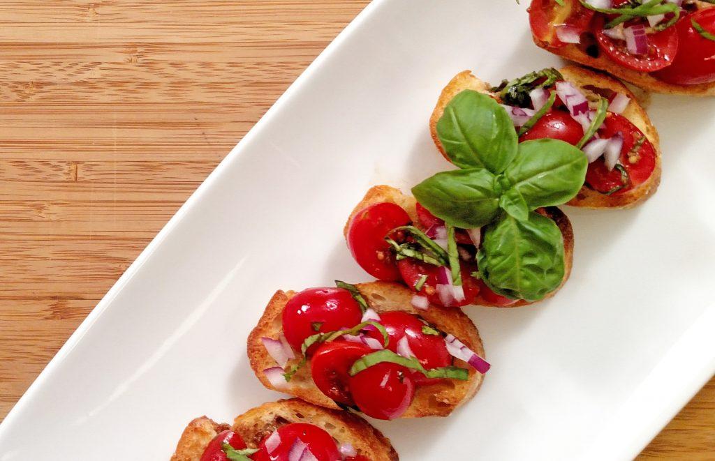 Bruschetta // Tiny Kitchen Big Taste