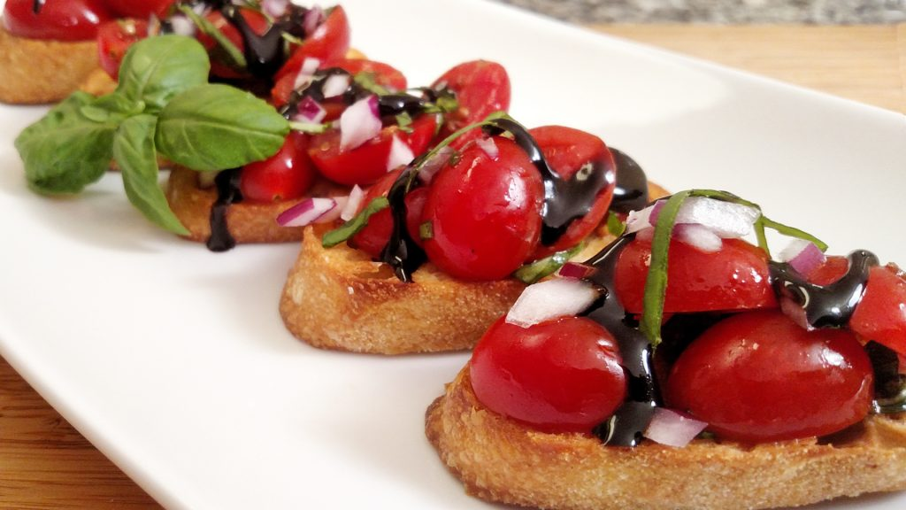 Bruschetta // Tiny Kitchen Big Taste