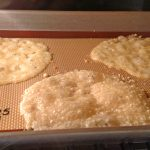 Frico (Fried Cheese Crisps) in Oven