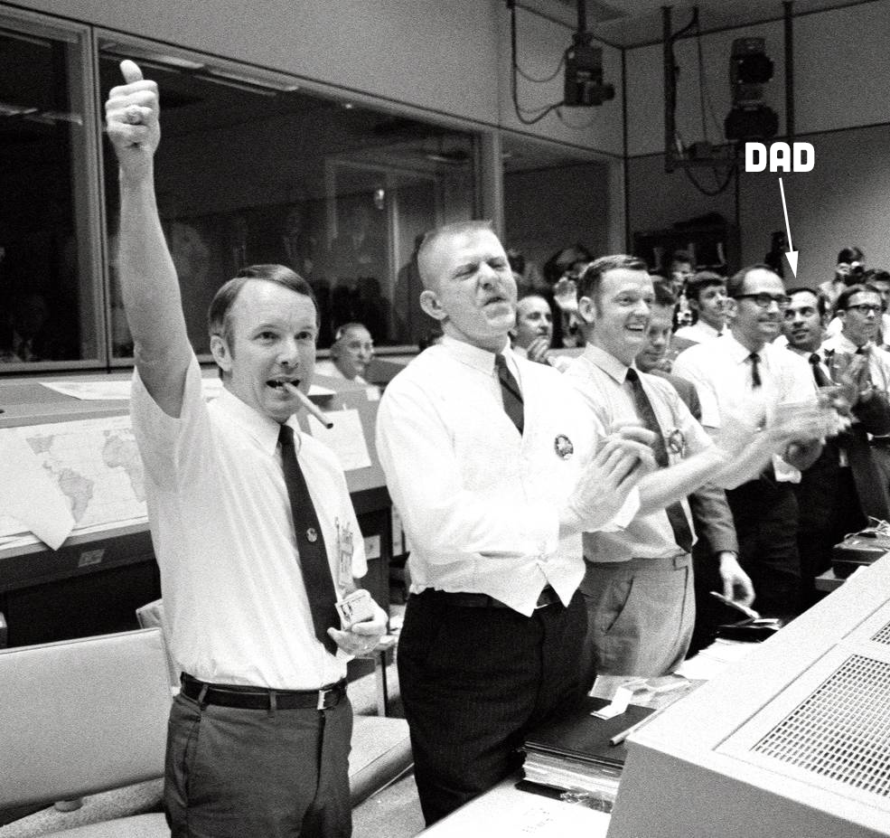 Mission Control Celebrates Apollo XIII Return