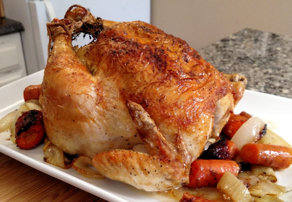 Perfect Roast Chicken // Tiny Kitchen Big Taste