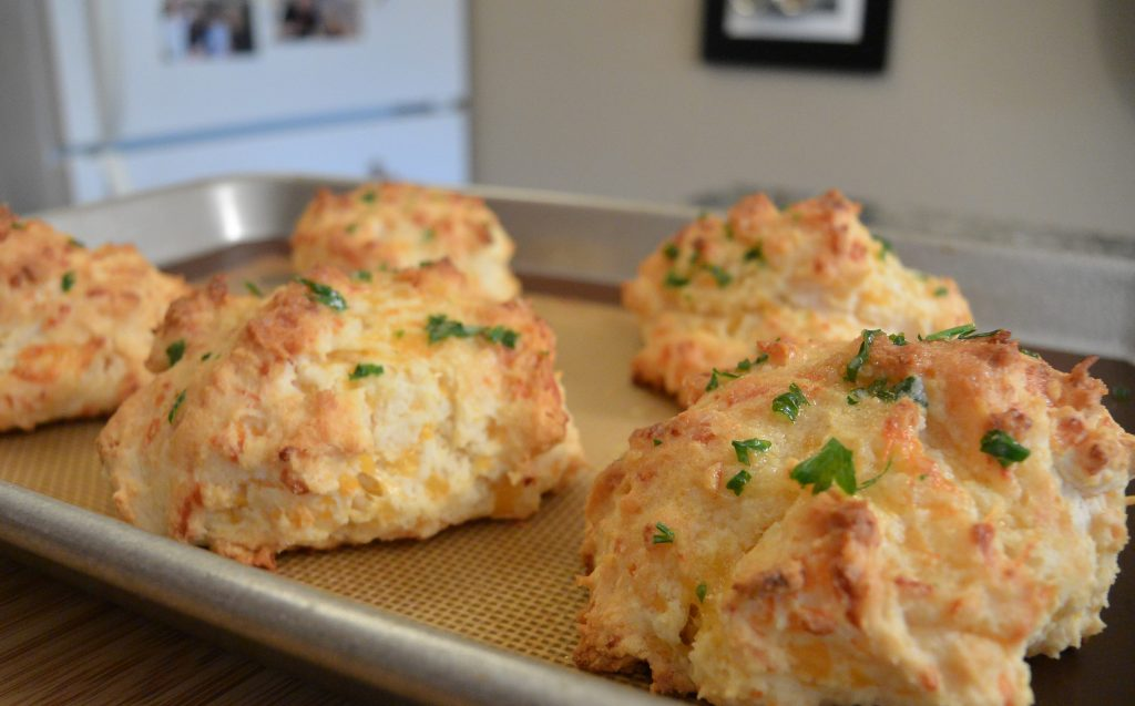 Cheddar Bay Biscuits // Tiny Kitchen Big Taste