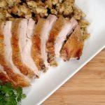 Sliced Turkey Breast on plate