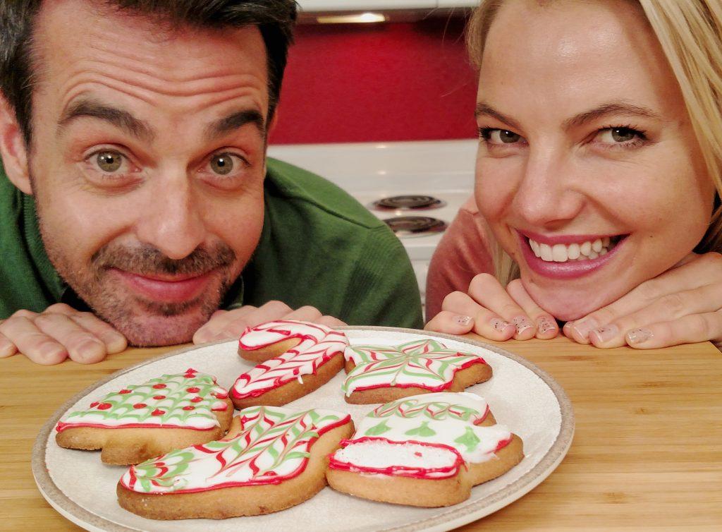 Merry Christmas Cookies // Tiny Kitchen Big Taste