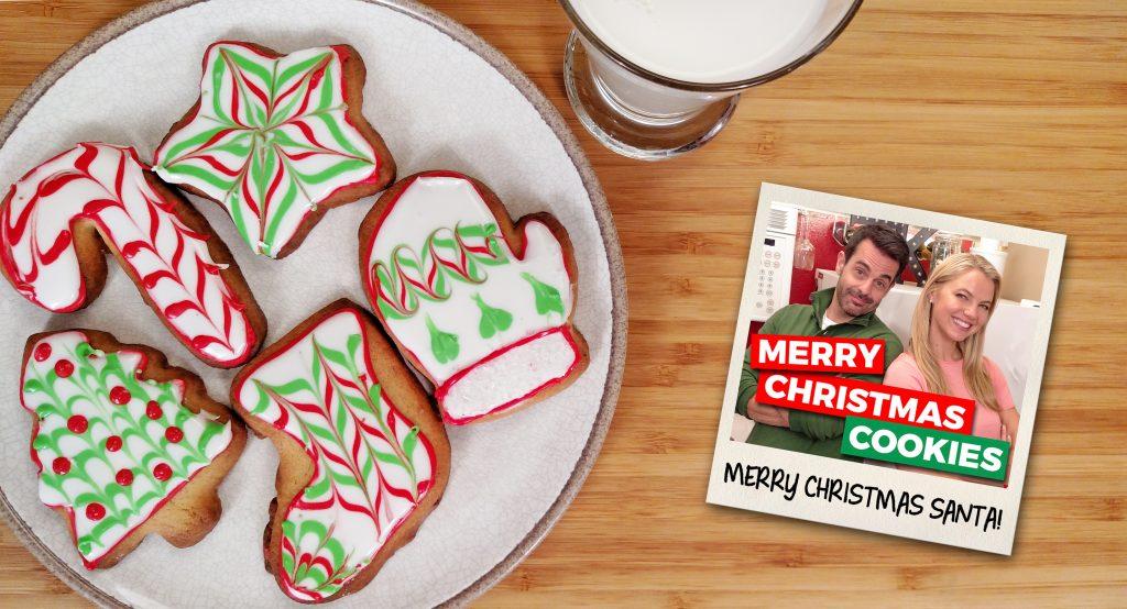 Merry Christmas Cookies - Tiny Kitchen Big Taste