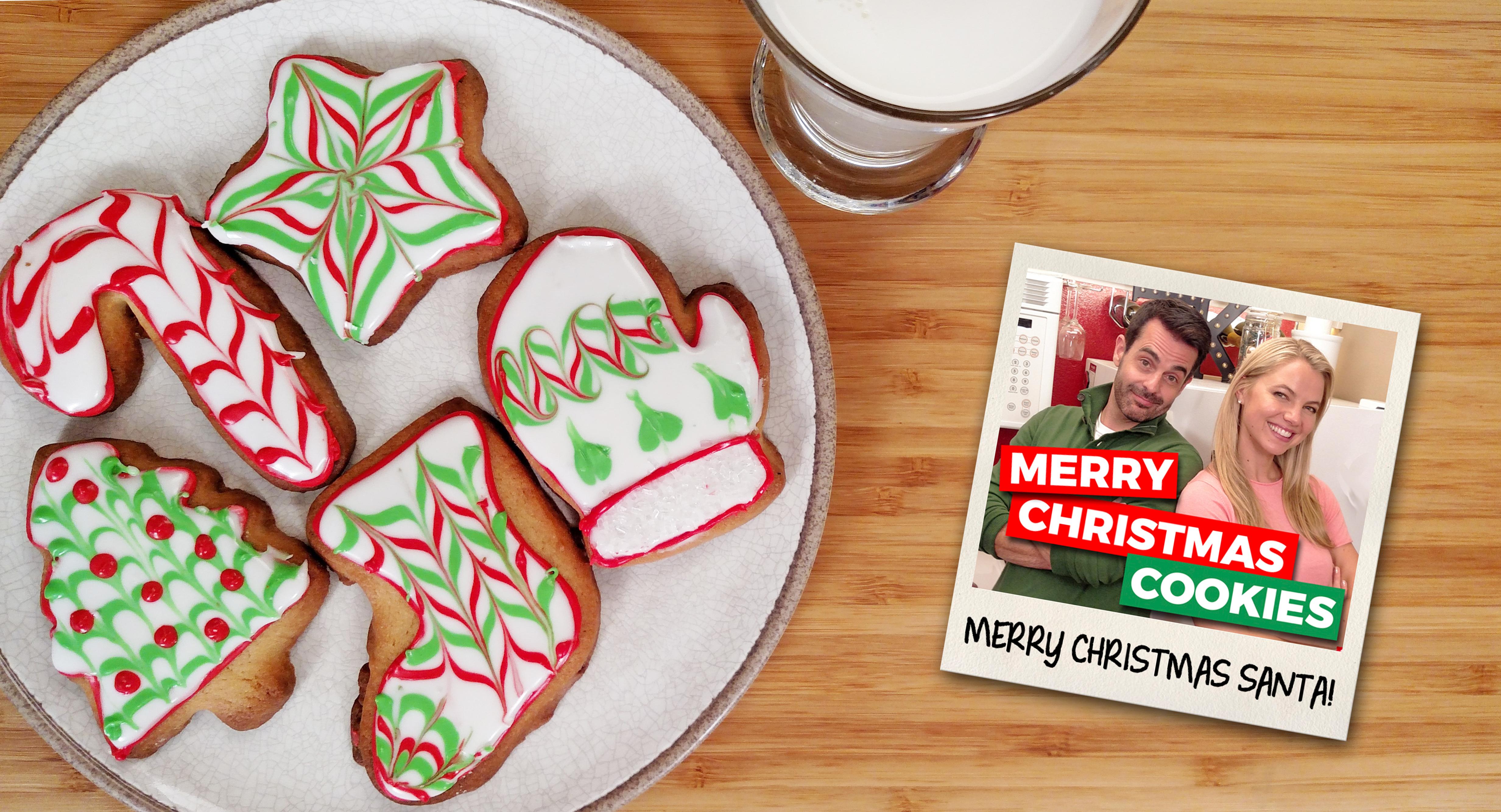 Merry Christmas Cookies Feat Natalie Korzon Tiny Kitchen Big Taste