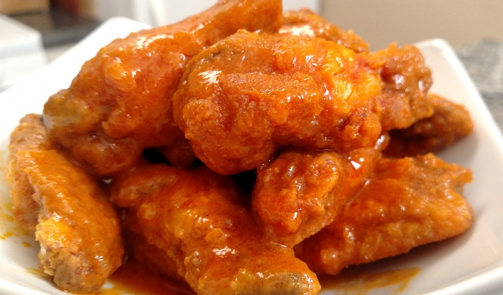 Buffalo Chicken Wings // Tiny Kitchen Big Taste