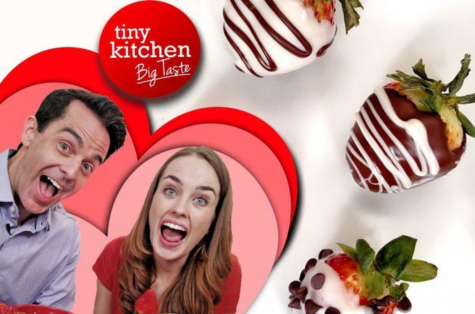 Chocolate Covered Strawberries // Tiny Kitchen Big Taste