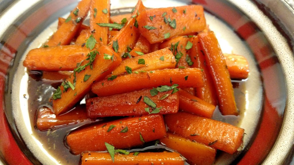Bourbon Street Glazed Carrots | Tiny Kitchen Big Taste