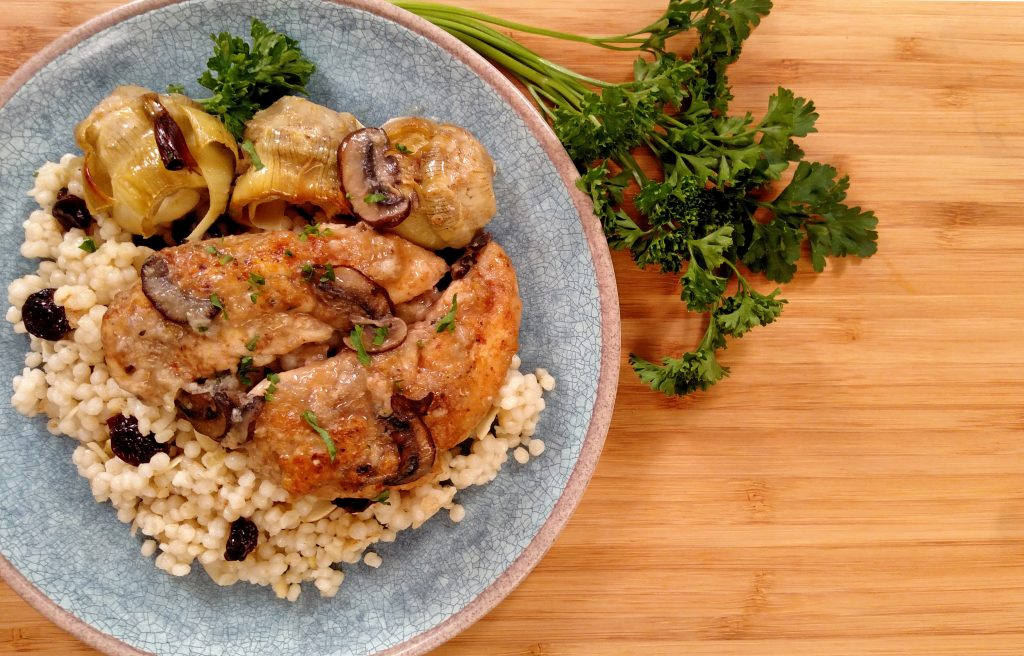 Chicken and Artichokes // Tiny Kitchen Big Taste