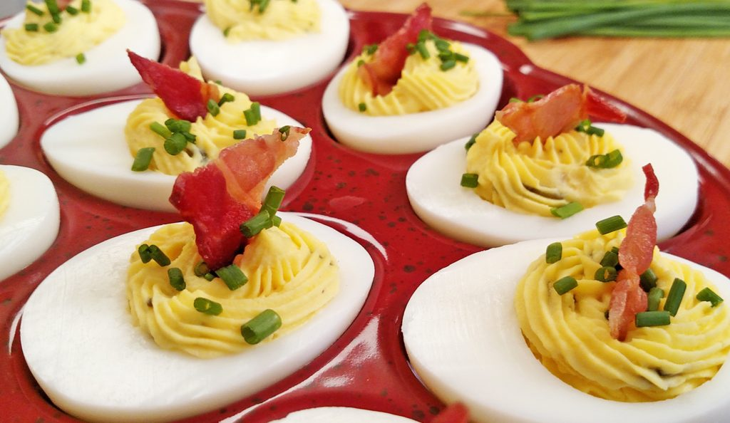 Deviled Eggs // Tiny Kitchen Big Taste