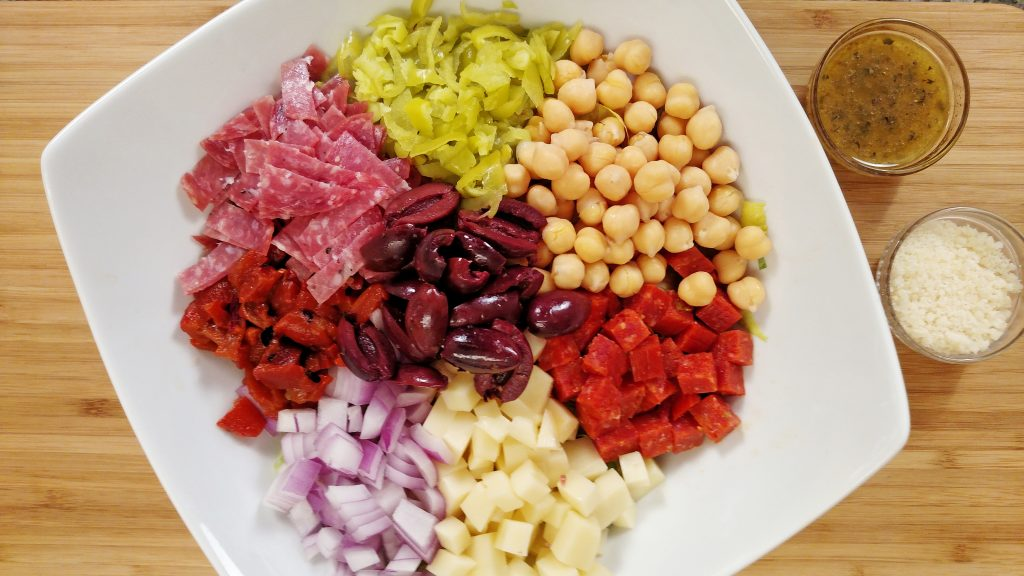 Italian Chopped Salad - Tiny Kitchen Big Taste