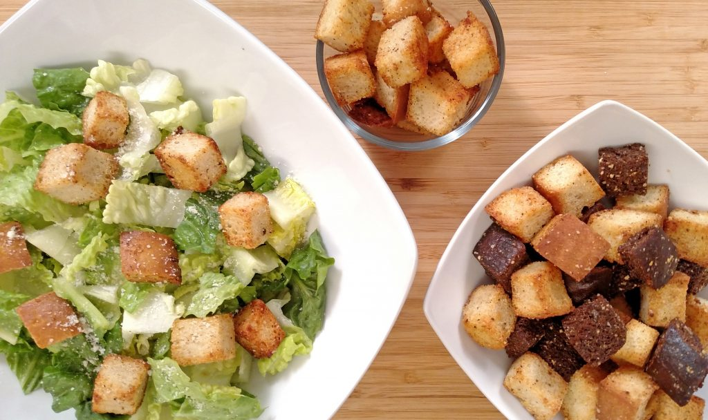 Croutons // Tiny Kitchen Big Taste