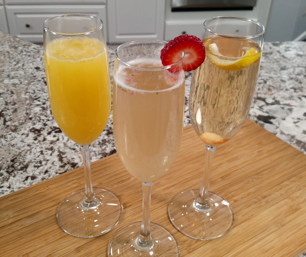 Sparkling Cocktails // Tiny Kitchen Big Taste