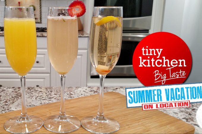 Sparkling Cocktails // Tiny Kitchen Big Taste