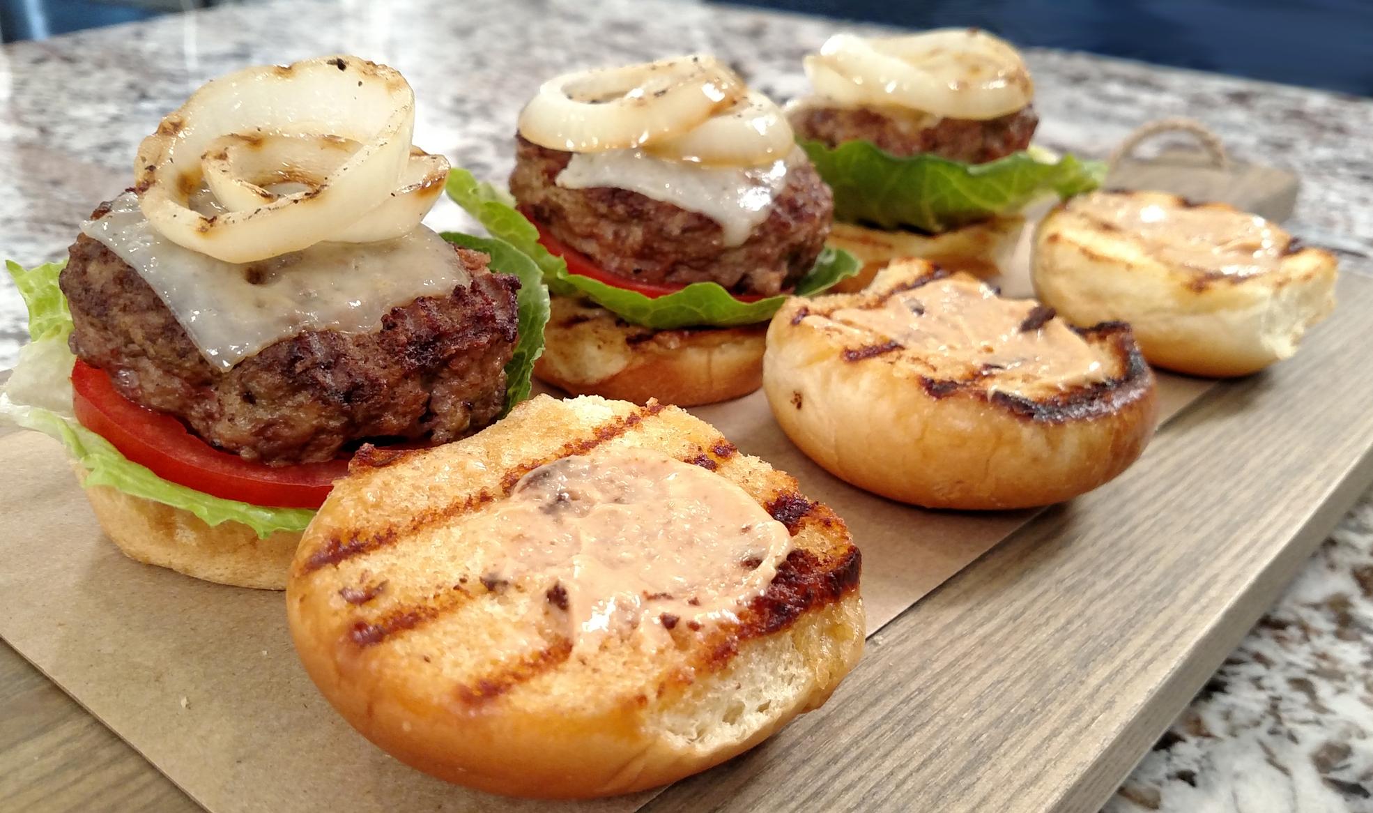 TKBT On Location:Perfect Summer Sliders | Tiny Kitchen Big Taste