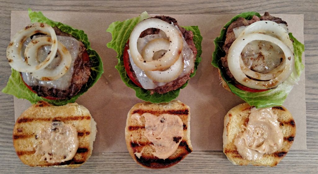 Tiny Kitchen Summer Sliders