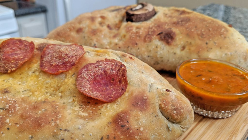 Calzone // Tiny Kitchen Big Taste