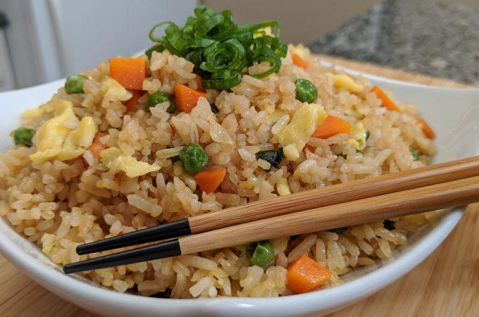 Fried Rice // Tiny Kitchen Big Taste