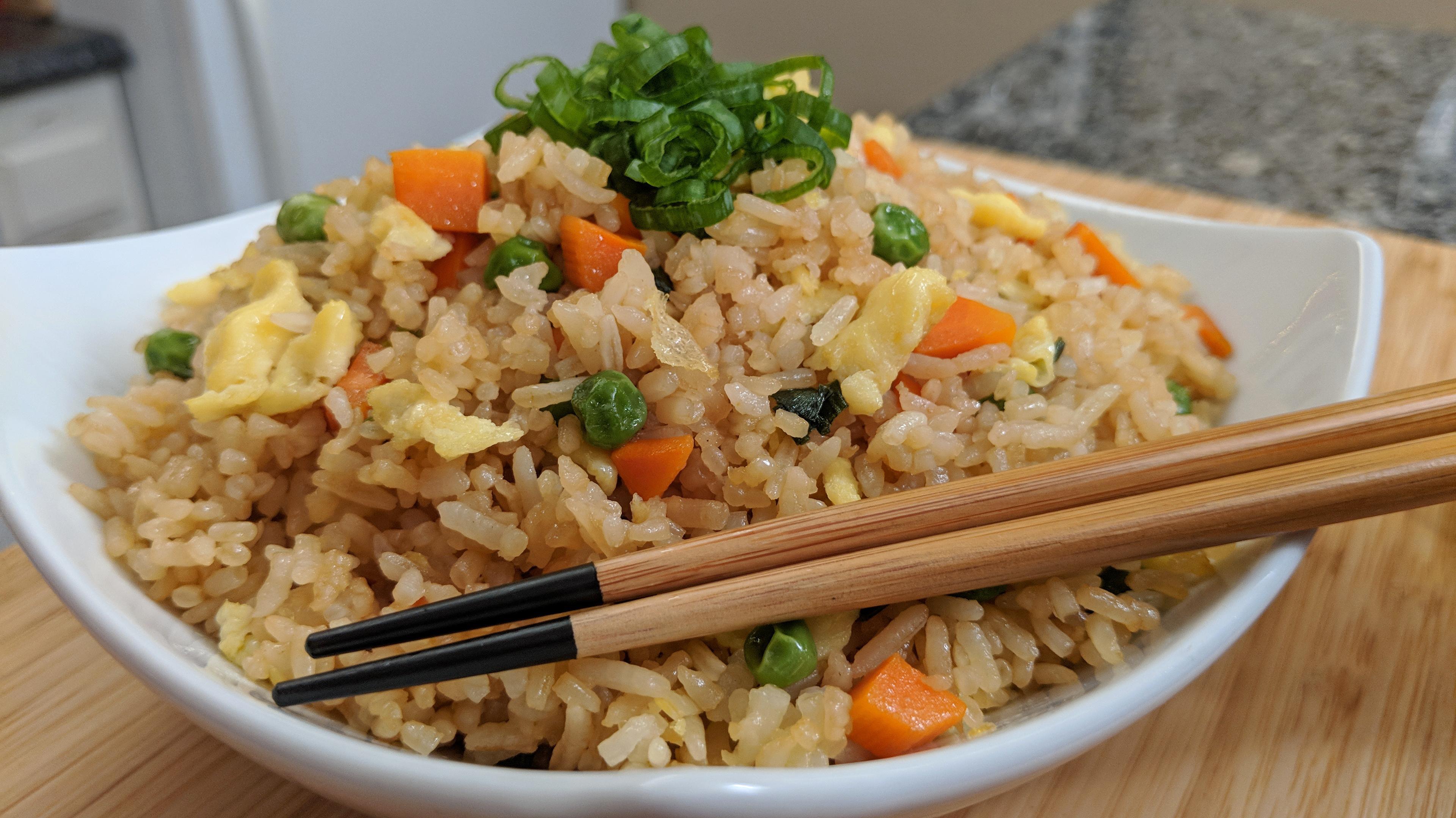 fried rice tiny kitchen big taste - Rice Kitchen
