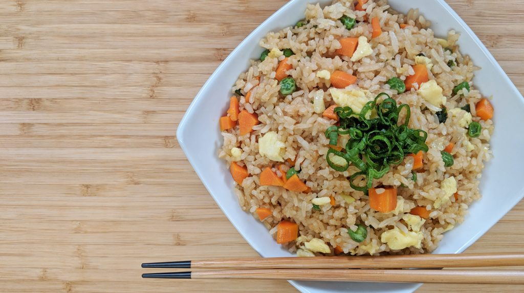 Fried Rice // Tiny Kitchen Big Taste
