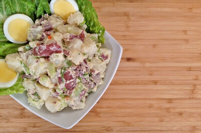 Potato Salad // Tiny Kitchen Big Taste