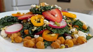 Kale Salad - Tiny Kitchen Big Taste