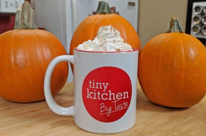 Pumpkin Spice Latte // Tiny Kitchen Big Taste