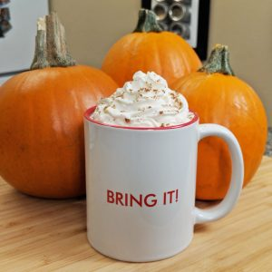 Pumpkin Spice Latte // Tiny Kitchen Big Taste