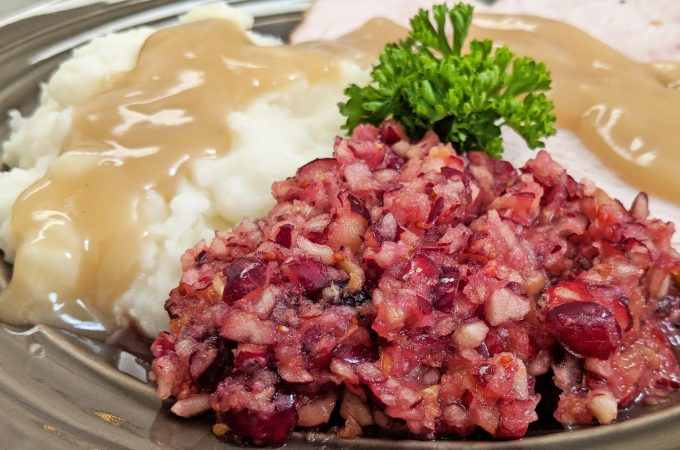 Cranberry Relish</br>Quick, Easy and Yummy!