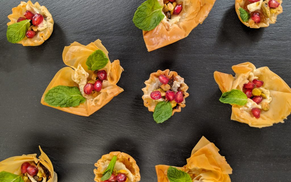 Brie Phyllo Cups // Tiny Kitchen Big Taste
