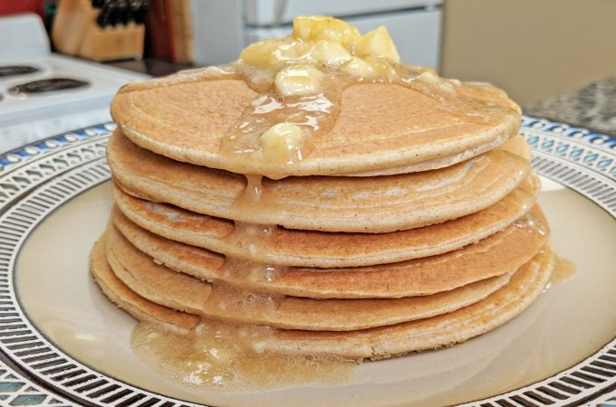 Power Pancakes // Tiny Kitchen Big Taste